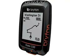 Bryton Rider 330 GPS USB cable Wireless GPS 72 Black GPS/ANT+  New In Box!