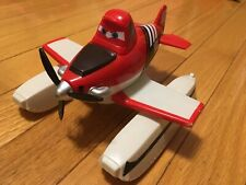 Disney & Pixar PLANES Fire & Rescue Dusty NKRH911 #07 Airplane Plastic Moves