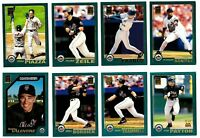 2001 Topps NEW YORK METS Team Set w/ Traded 52 Cards NM/MT
