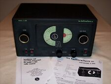 New ListingHallicrafters S-38A Shortwave Ham Radio Receiver – Excellent 1947 Model Restored