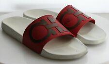 05-54 $230 Men's Size 13.5 Salvatore Ferragamo Sandals Red