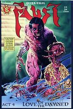 Faust 4 SIGNED TIM VIGIL Love Of The Damned NM GORE SEX Comic 1989 Northstar COA