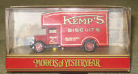 """MATCHBOX YESTERYEAR Y31 1931 MORRIS COURIER """"KEMP'S BISCUITS IN ORIGINAL BOX MIB"""