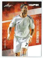 Rare Cristiano Ronaldo 2020 Leaf HYPE! #47 25-Card Lot Only 5000 Made