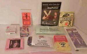 Lot of New & Vintage Magic # 609 John Kennedy, Zimmerman, Nick Trost, more