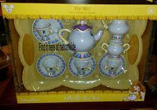 New Disney Parks Belle Tea Set! Talking Mrs. Potts! Chip Beauty & Beast Teapot