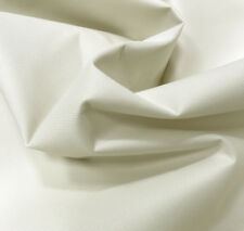 Cream Heavy Duty Thick Waterproof Canvas Fabric 600d Outdoor Cover by Metre