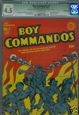 Boy Commandos #1 CGC 4.5 Qualified green Label