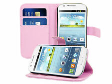 PU Leather Wallet Skin Phone Stand Case Cover for Samsung Galaxy Express i8730