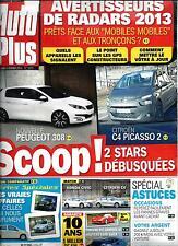 AUTO PLUS N°1274 4 FEVRIER 2013   PEUGEOT 308/ SERIES SPECIALES/ ASTUCES