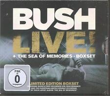 "BUSH ""Live! + The Sea Of Memories Boxset"" 2CD + DVD Limited Edition sealed"