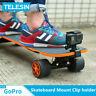 TELESIN Rotatable Skateboard Mount Clip holder For GoPro & Other Action Camera