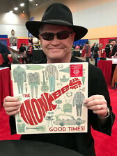 "THE MONKEES 12"" VINYL ALBUM ""GOOD TIMES!"" SIGNED BY MICKY DOLENZ TO YOU!"
