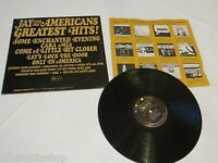Jay and the Americans Greatest hits Enchanted evening LP RARE record vinyl album