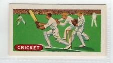 New listing Sports and Games 1954. Cricket