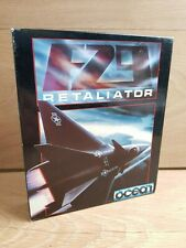 Vintage Retro F29 Retaliator Amiga Game Boxed Manual Included Tested & Working