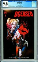 DCeased #1 - Unknown Comics Mico Suayan Exclusive - CGC 9.8!