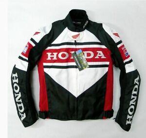 MOTORCYCLE HONDA RACING JACKET TEXTILE CORDURA CHAQUETA GIACCA JACKE BLOUSON