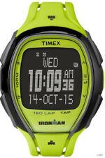 Timex Unisex Ironman Sleek 150 Tap Screen 100m Green Resin Watch TW5M00400