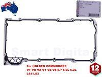 SUMP OIL PAN GASKET for HOLDEN COMMODORE VT VU VX VY VZ V8 5.7 6.0L 6.2L LS1-LS3