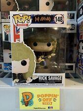 Pop! Rocks: Def Leppard - Rick Savage (In Stock!) Vinyl Figure