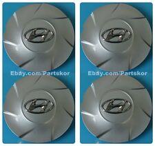 For 2011-13 Hyundai Elantra Genuine Parts Center Wheel Hub Cap 17 inch 4 PCS