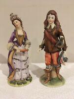 Vintage1950's Arnart Collector's Edition Numbered Porcelain Victorian Sculpture