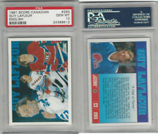1991 Score Canadian Hockey, #293 Guy Lafleur, Canadiens, PSA 10 Gem