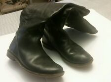 Preowned Frye black riding boots. Size 6.5