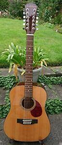 Freshman FA1D12 12 String Jumbo  Acoustic Guitar