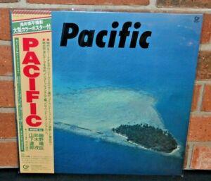 Haruomi Hosono S. Suzuki T. Yamashita – Pacific, OFFICIAL LTD BLUE VINYL LP New