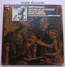 SLS 816-Strauss-Faust CLUYTENS/DE LOS ANGELES-EX détenu 4 LP Record Box Set