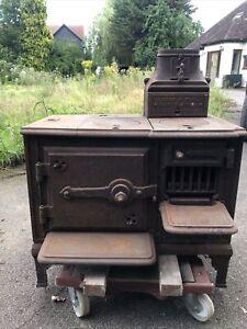 Antique Cast Iron Stove Range Oven