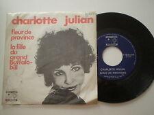 CHARLOTTE JULIAN Fleur De Providence OMEGA JUKEBOX 1972