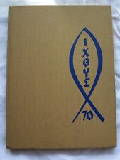 1970 QUIGLEY SOUTH HIGH SCHOOL, YEARBOOK CHICAGO, ILLINOIS  IXOYE UNMARKED!