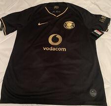 Kaizer Chiefs Nike Black Gold Jersey 2019-20 L Large AT0037-011 New South Africa