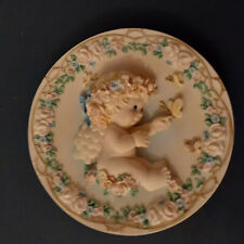 """Dreamsicles Sculpted Plate - """"Loves Gentle Touch"""" By Kristin"""