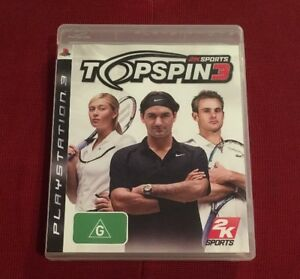 2K Sports Top Spin 3 - Sony PlayStation 3 - Ps3