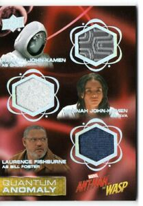 Ant-Man & the Wasp QUANTUM ANOMALY TRIPLE RELIC Card QMT4 / GHOST AVA FOSTER
