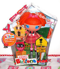 BITTY BUTTONS Lalaloopsy Bea Spells a Lot large doll + pet,swing tag+ poster VGC