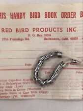 Vintage Aluminum Bird Leg Bands - 20 Qty. - 1975 - Red Bird Products Inc.