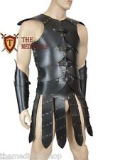 Medieval vest armor Strip without hand clip LARP/SCA armour genuine Leather