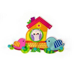 "Hess 30298 Children's Wardrobe "" Bird House "" Erzgebirge Wood New! #"