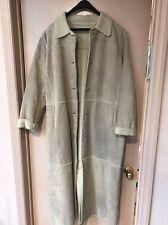 Colebrook & Co Long Suede Coat Women's XL
