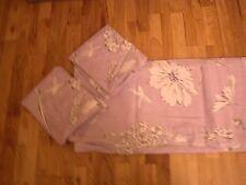 Próxima Malva Púrpura país floral delicado Aciano Shabby Chic Juego De Cama King
