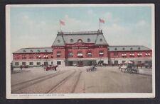 USA 1900's UNION STATION IN SALT LAKE CITY POSTCARD UNUSED