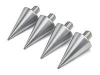 PrecisionGeek - BIG Aluminium Speaker Spikes M8 20mm dia - Set of 4 pcs