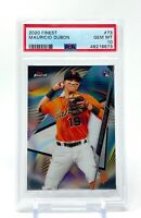 Mauricio Dubon 2020 Topps Finest Rookie #73 RC PSA 10 Gem Mint SF Giants