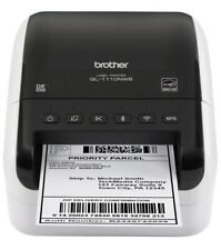 """Brother QL-1110NWB Wireless 4"""" Wide-Shipping Barcode Pro Thermal Printer IN HAND"""