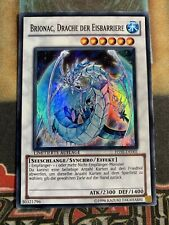 Yugioh Brionac, Dragon of The Ice Barrier HA05-DE005 Super Rare GERMAN!